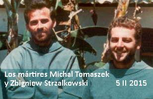 Los mártires Michal y Zbigniew