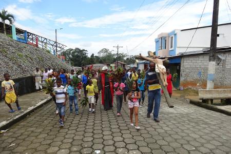 Misión Popular en Esmeraldas
